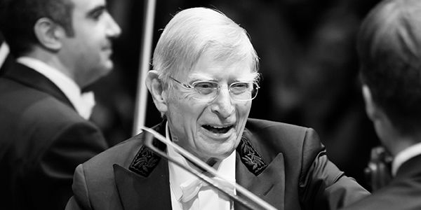 Bach's »St. John Passion« with Herbert Blomstedt
