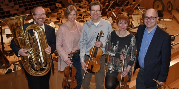 Education-Team der Bamberger Symphoniker